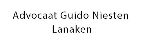 Advocaat Guido Niesten Lanaken